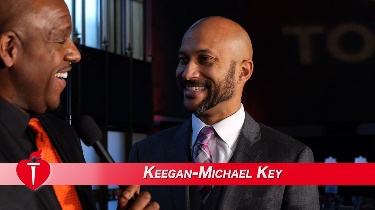 Keegan-Michael Key Interview with AHA