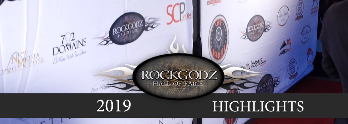 2019 Rock Godz Hall of Fame